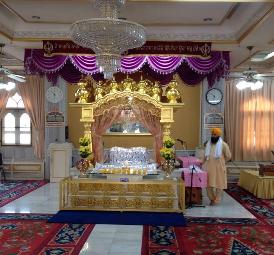 Gurdwara Sri Guru Singh Sabha,Cholburi (Pattaya)